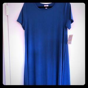 NWT Carly M Dress Blue No Pocket!
